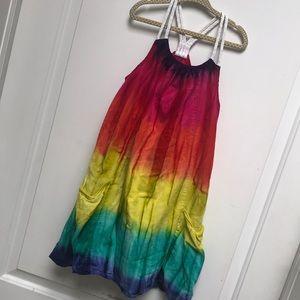 Girls tie-dye dress